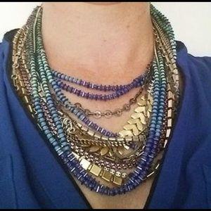 Stella Dot Utopia multi strand versatile necklace